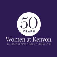 Women at Kenyon logo