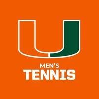 University of Miami Men's Tennis vs North Carolina