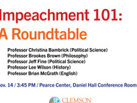 Impeachment 101: A Roundtable