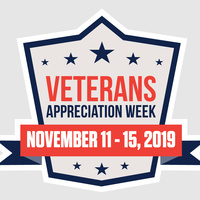 Veterans Appreciation Week: Lunch & Learn - Military Student Association (MSA) Meeting w/ADP