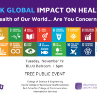 Think Global Impact on Health
