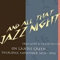 CDU Presents: And All That Jazz Night