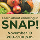 SNAP Enroll-A-thon