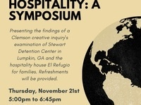 Stories of Refuge, Detention, & Hospitality: CI Symposium