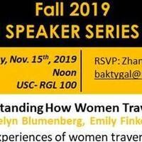 Understanding How Women Travel