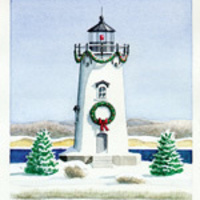 Christmas in Edgartown: Christmas at the Lighthouse