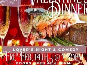 Valentine's Dinner & Comedy