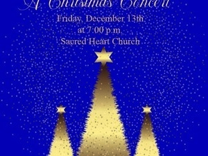 Enjoy Classical and Holiday Favorites at the 5th Annual Sacred Heart Parish Christmas Concert