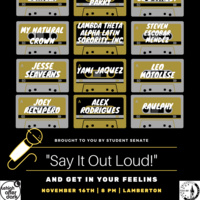 Say It Out Loud | Lehigh After Dark