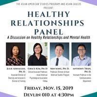 Healthy Relationships Panel