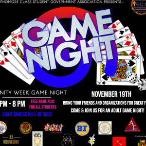 UNITY WEEK: GAME NIGHT