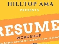 Hilltop AMA Resume Workshop