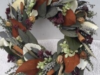 Leaf Wreath Workshop with Diana Conklin