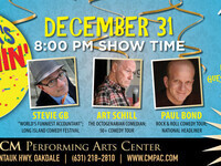 CM Performing Arts Center Presents: New Year's Laughin' Eve in The Noel S. Ruiz Theatre