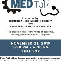 MED Talk: The Intersection of Engineering and Medicine