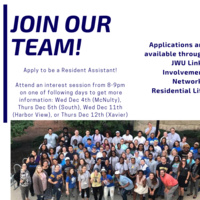 Resident Assistant Interest Session