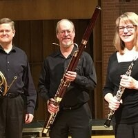 "Music at the Library presents Puget Sounds Wind Quintet with soprano Elizabeth Johnson performing ""Peter and the Wolf"""