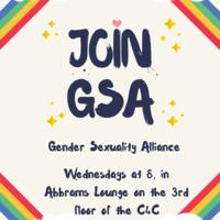 GSA Weekly Meeting