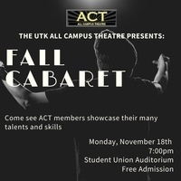 All-Campus Theatre Cabaret