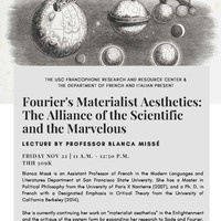 Fourier's Materialist Aesthetics: The Alliance of the Scientific and the Marvelous