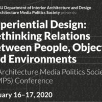Experiential Design – Rethinking relations between people, objects and environments