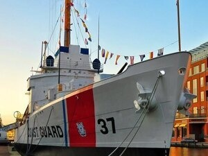 Pearl Harbor Memorial Ceremony on USCGC Taney