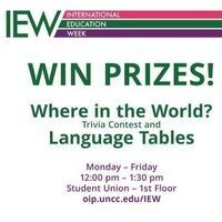"""Where in the World"" Trivia & Language Tables"