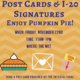 Student event | Send a postcard