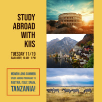 Study Abroad with KIIS