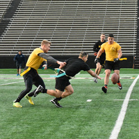 NROTC Navy vs Army Flag Football