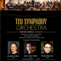 Ensemble Concert Series: TCU Symphony Orchestra Concert.
