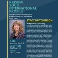 Raising your International Profile