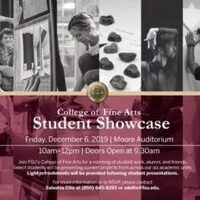 College of Fine Arts Student Showcase