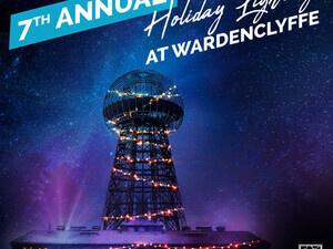 Holiday Lighting at Wardenclyffe