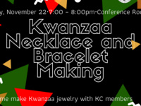 Kwanzaa Necklaces and Bracelets Making