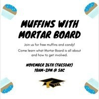 Muffins with Mortar Board