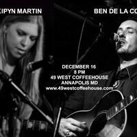 Ben De La Cour and Kipyn Martin at 49 West