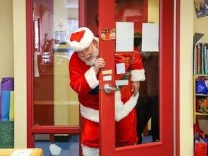Norcross Photos with Santa