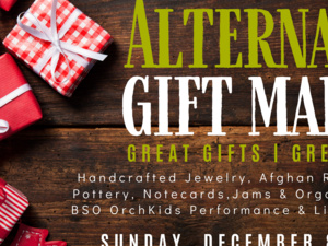 Second Presbyterian's Annual Alternative Gift Market