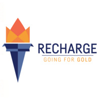 Recharge: Going for Gold logo.