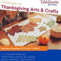 Thanksgiving Arts & Crafts