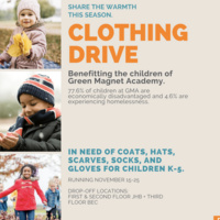 Clothing Drive for Green Magnet Academy
