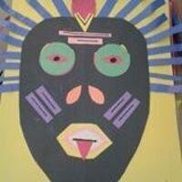 Family Art : Creative African Mask