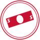red money icon