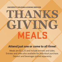 Thanksgiving Day meal at Southside Station at Arnold