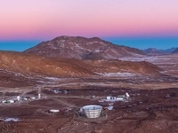 Site of Simons Observatory in the Atacama Desert in Chile (credits: UC San Diego).