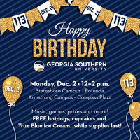 Georgia Southern's Birthday Celebration - Armstrong Campus