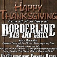 Borderline Pre-Thanksgiving Party