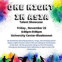One Night in Asia Talent Showcase