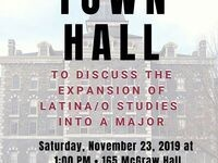 Latinx Town Hall - gauging interest in a Latina/o Studies Major at Cornell University!